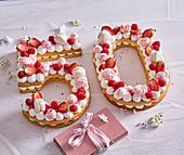 Kuchen zum 50. Geburtstag
