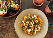 Indian spiced sweet potato