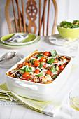 Leichte Gemüselasagne für Vegetarier