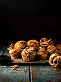 Cruffins made with ready-made dough