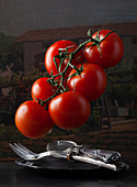 Flying tomatoes