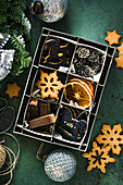 Christmas cookie variety
