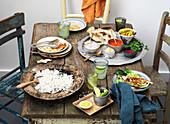 Asiatisches Dinner