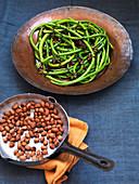 Asian snake beans