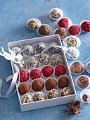 Orange truffels