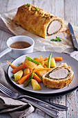 Pork tenderloin Wellington