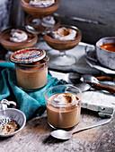 Cardamon, Date and Coffee Panna Cotta