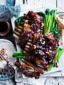 Sticky Lamb Ribs auf chinesische Art