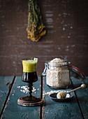 Kwas (fermentiertes Getränk aus Brot, Russland)