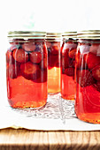 Strawberries in syrup