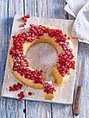 Red currant wreath