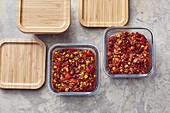 Chili sin Carne einfrieren