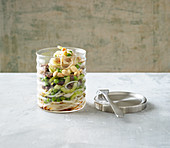 Glass noodle salad with beef to go