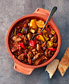 Guvec – Turkish lamb and vegetable stew