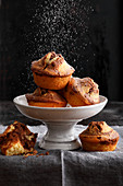 Marble cake muffins