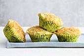 Ricotta-Spinat-Muffins