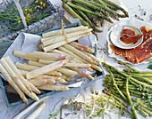 Asparagus and ham