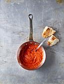 Spicy ajvar