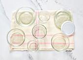 Clean preserving jars