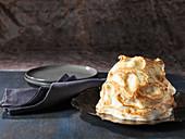Baked Alaska (Eistorte mit Baiserhaube)
