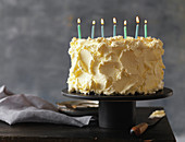 Buttercream Frosted Birthday Cake