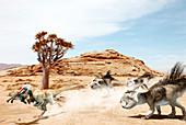 Protoceratops, illustration