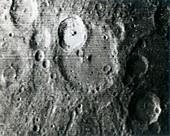 Mercury, Mariner 10 spacecraft image