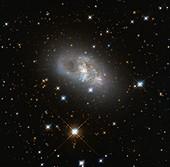 Lenticular galaxy, Hubble image