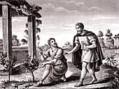 The Scythian Philosopher, allegorical illustration