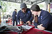 Apprentice mechanic learning