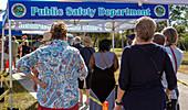 Covid-19 vaccination queue, USA