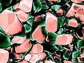 Crystals of pure Vitamin C