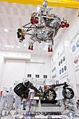 Mars 2020 spacecraft testing