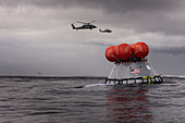 NASA Orion capsule recovery test