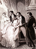 Scene from Home as Found, 19th century illustration