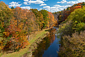 Autumn in Mill Creek, Michigan, USA