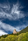 Rotating clouds, Spanish pyrennes