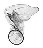 Used condom, X-ray