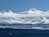 Ribbon of cloud near Anvers Island, Antarctica