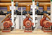 Seawater treatment plant, Israel