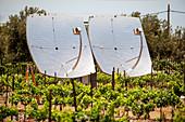Solar collectors, Israel