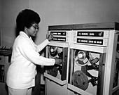 Jeanette Scissum, NASA scientist