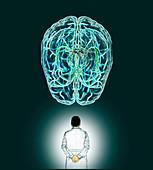 Neurology, conceptual illustration