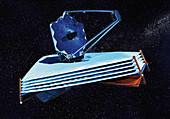 James Webb Space Telescope, illustration