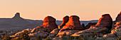 Rock formations, Canyonlands National Park, Utah, USA