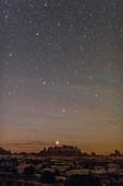 Night sky over Canyonlands National Park, USA