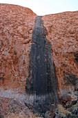 Rainwater channel on Uluru, Australia