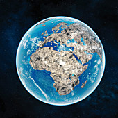 Mineral Earth, conceptual illustration