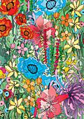 Flowers, illustration