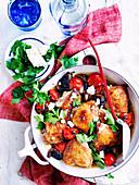 Balsamic tomato and mushroom chicken